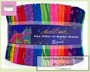 Laurel Burch - Prism - 40 2 1/2 strip roll