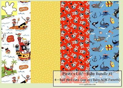 Pirate's Life - Baby Bundle #1