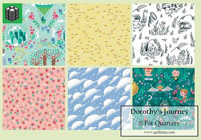 Dorothy's Journey - 6 Fat Quarters