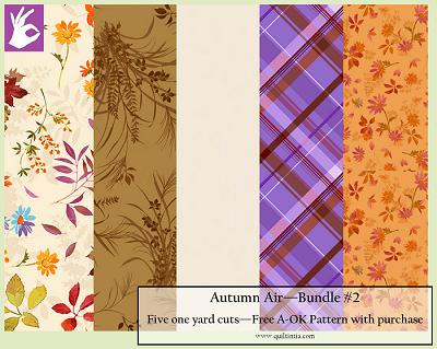 Five Yard Bundle - Autumn Air #2 - FREE A-OK PATTERN