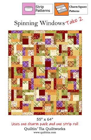 Spinning Windows - TAKE 2!  Quilt Pattern