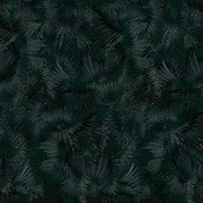 Flower Power - Texture - Black