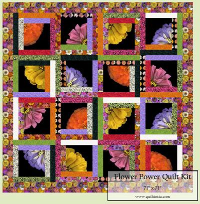 Flower Power - Quilt Kit
