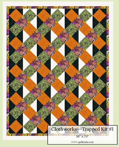 Flower Power - Trapped Quilt Kit #1