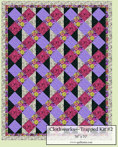 Flower Power - Trapped Quilt Kit #2