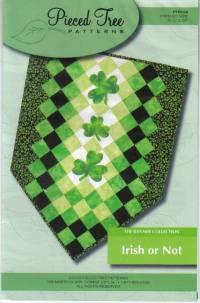 Irish or Not/Snowman Banner Pattern