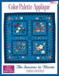 Color Palette Applique - The Seasons in Bloom