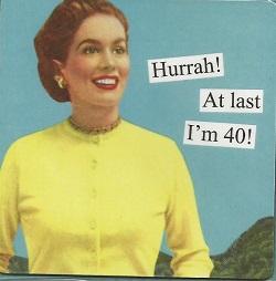 Magnet - Hurrah! At last I'm 40!