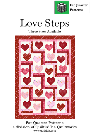 Love Steps Quilt Pattern