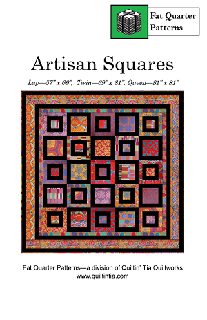 Artisan Squares Fat Quarter Quilt Pattern