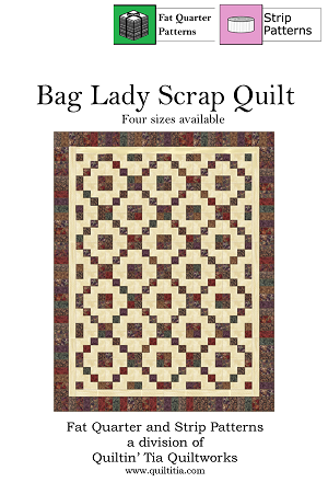 Bag Lady Scrap Pattern