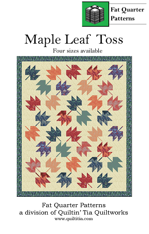 Maple Leaf Toss Quilt Pattern