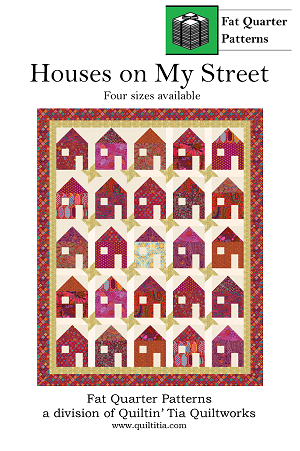 Houses on My Street Quilt Pattern