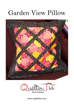 Garden View Pillow Pattern