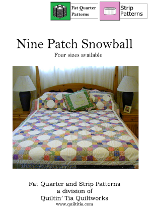 Nine Patch Snowball Quilt Pattern