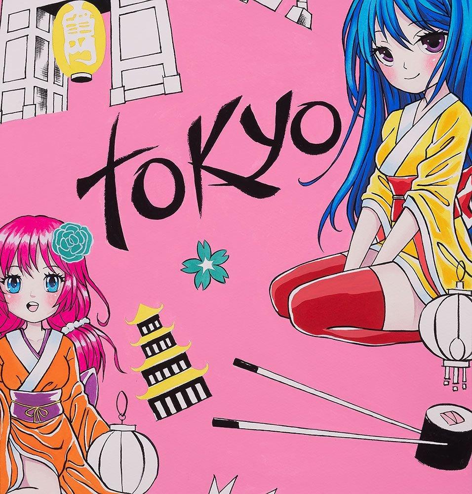 Alexander Henry - Tokyo Dream - Pink