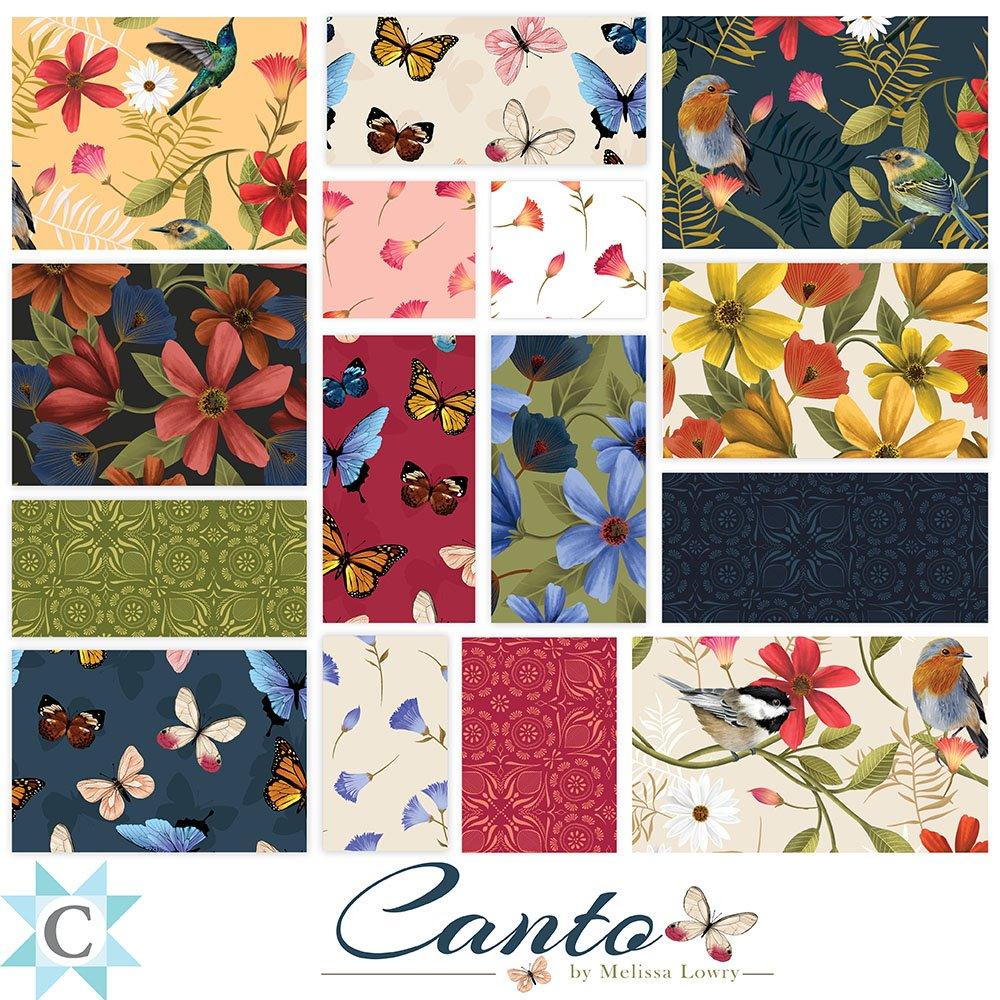 Canto - 15 Fat Quarters