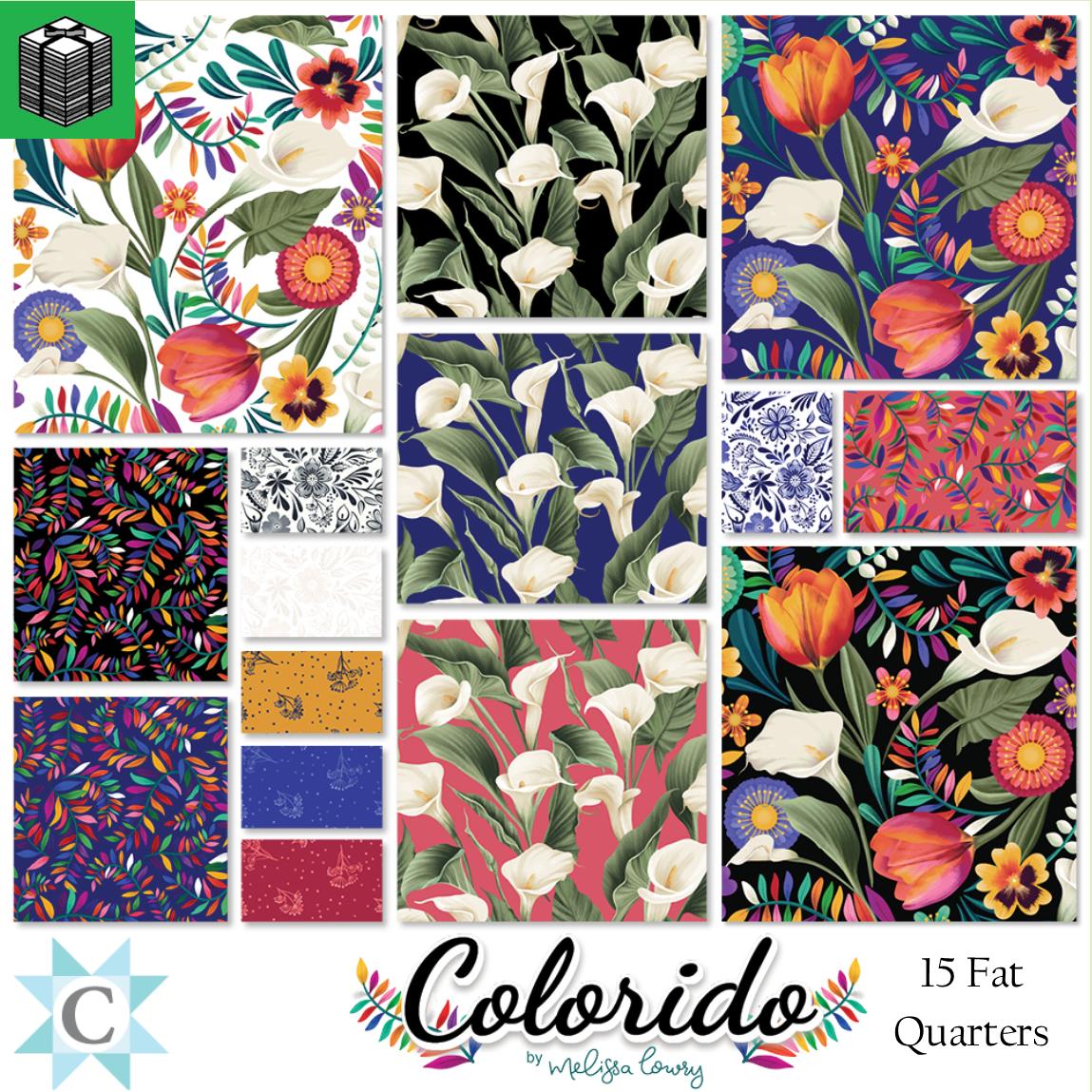 Colorido - 15 Fat Quarters