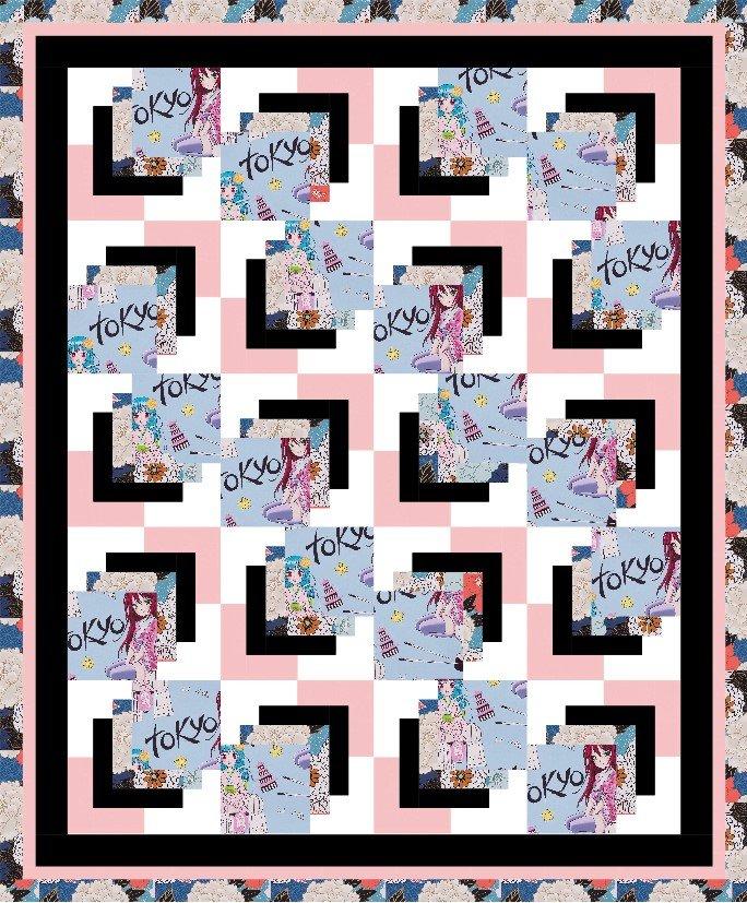 Tokyo Dream Eclipse Quilt Kit - #1