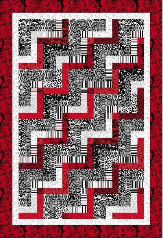 Ruby Night - The Final Step Quilt Kit