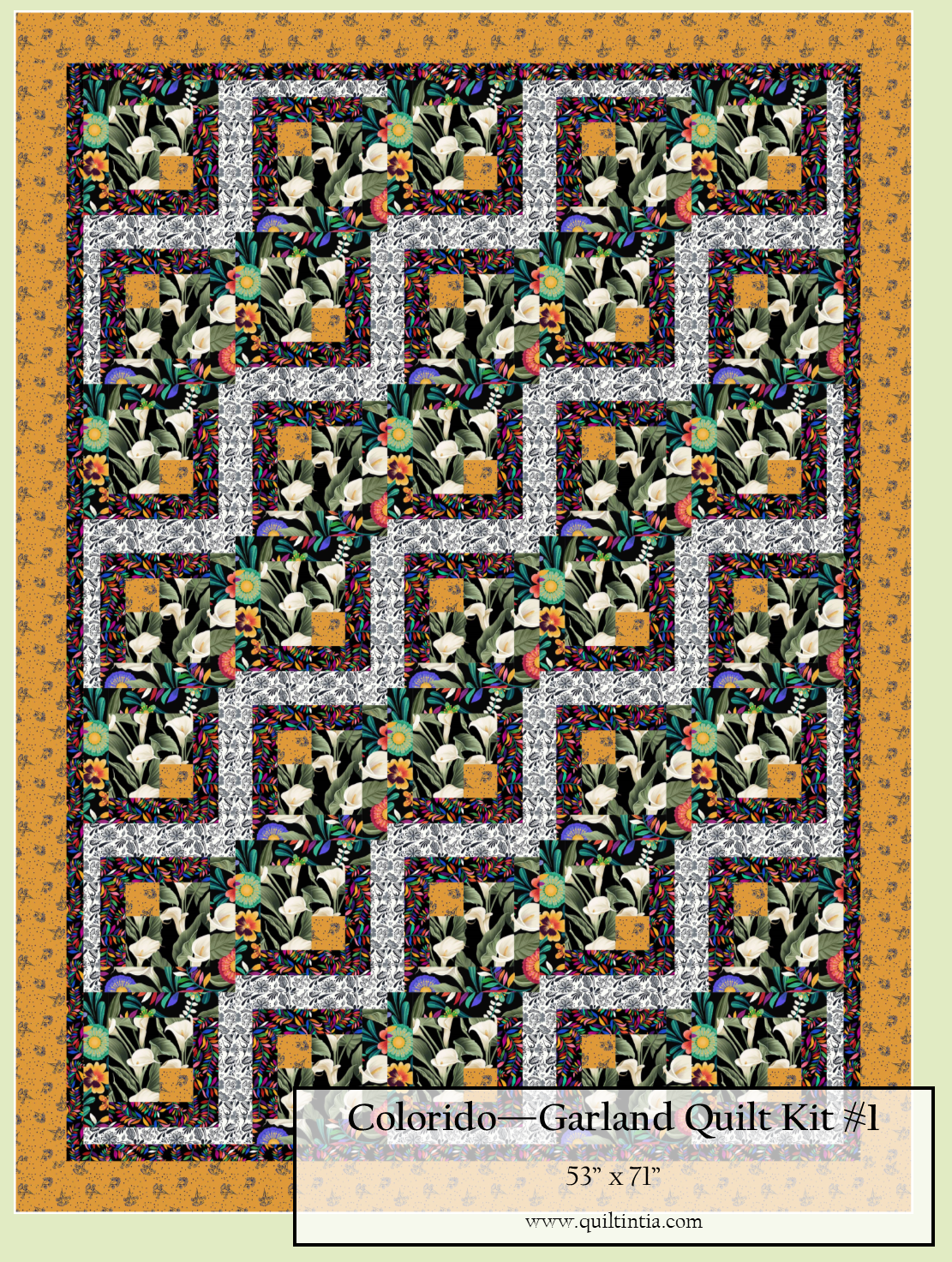 Colorido - Garland Quilt Kit #1