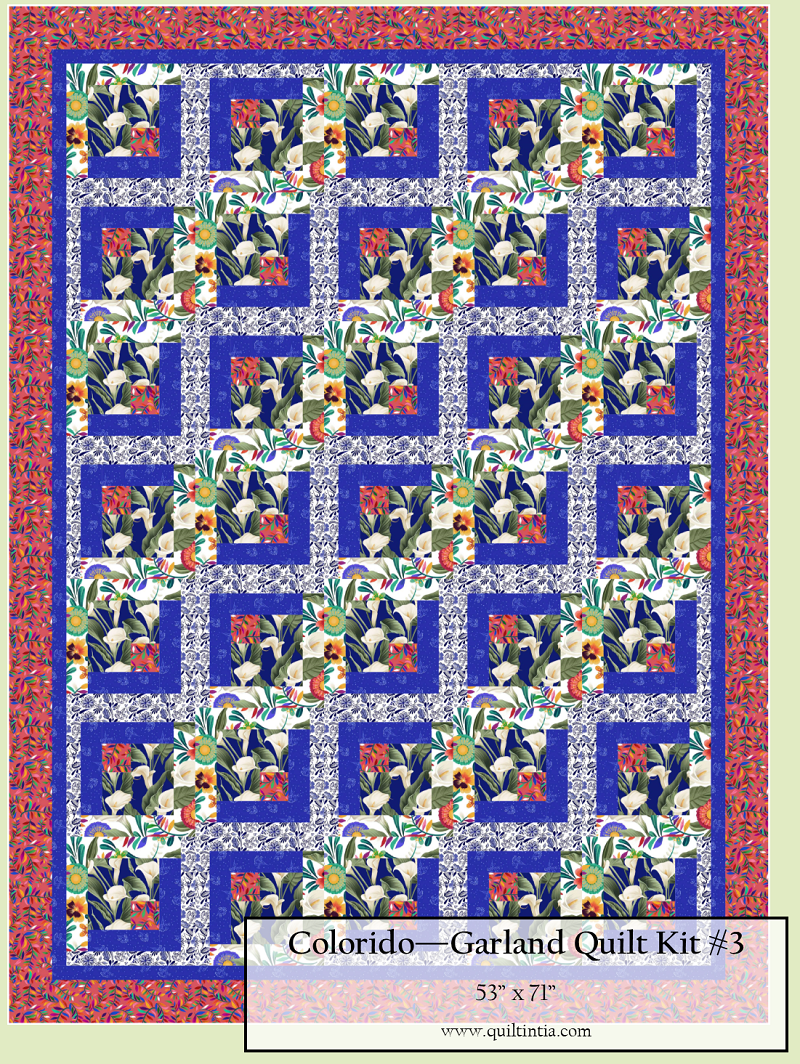 Colorido - Garland Quilt Kit #3