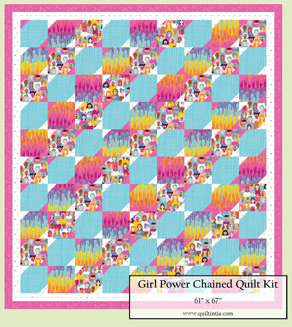 Girl Power - Chained Quilt Kit