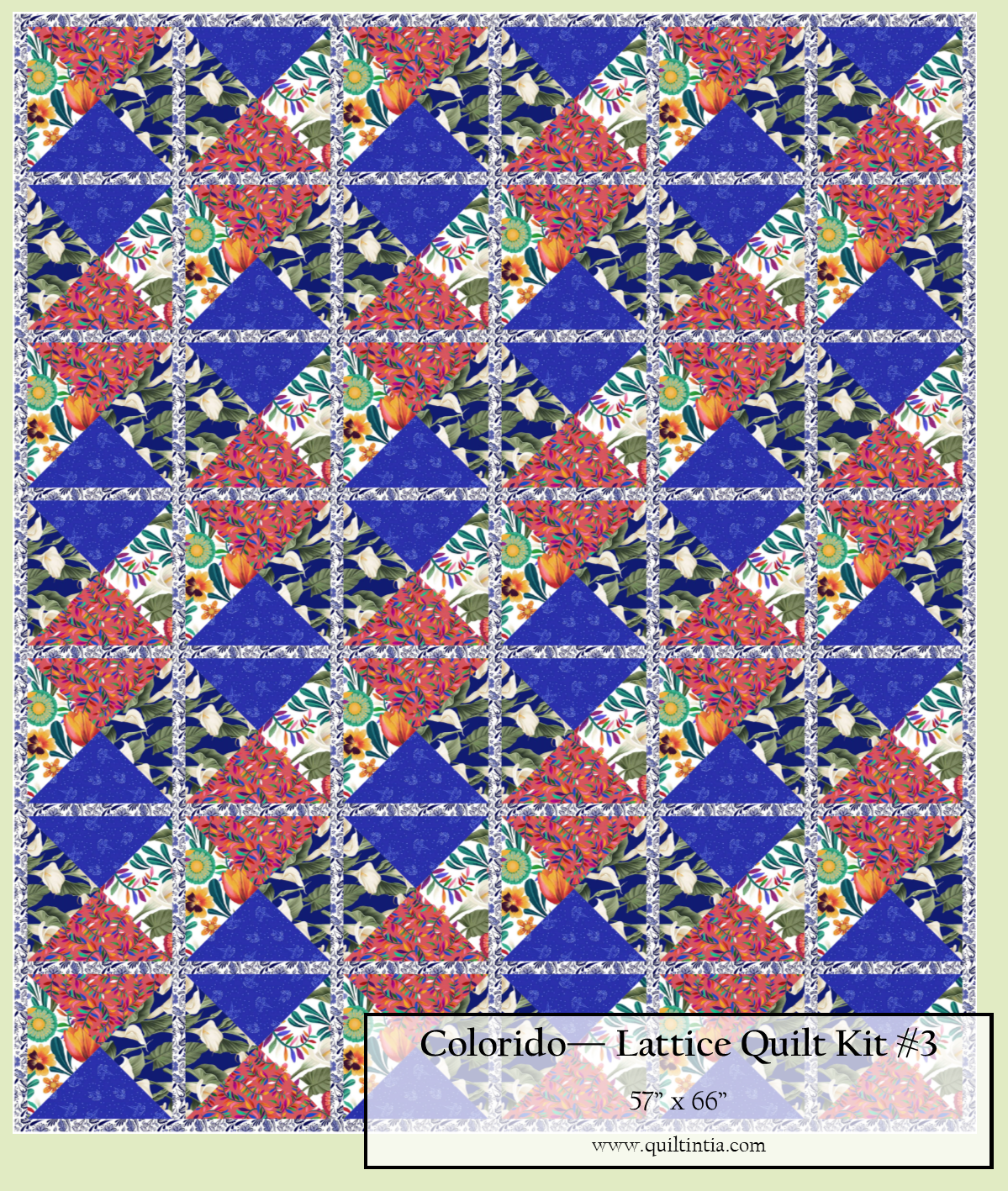 Colorido - Lattice Quilt Kit #3