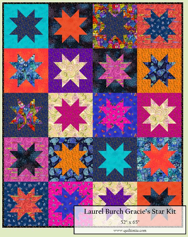Laurel Burch - Gracie's Star Kit