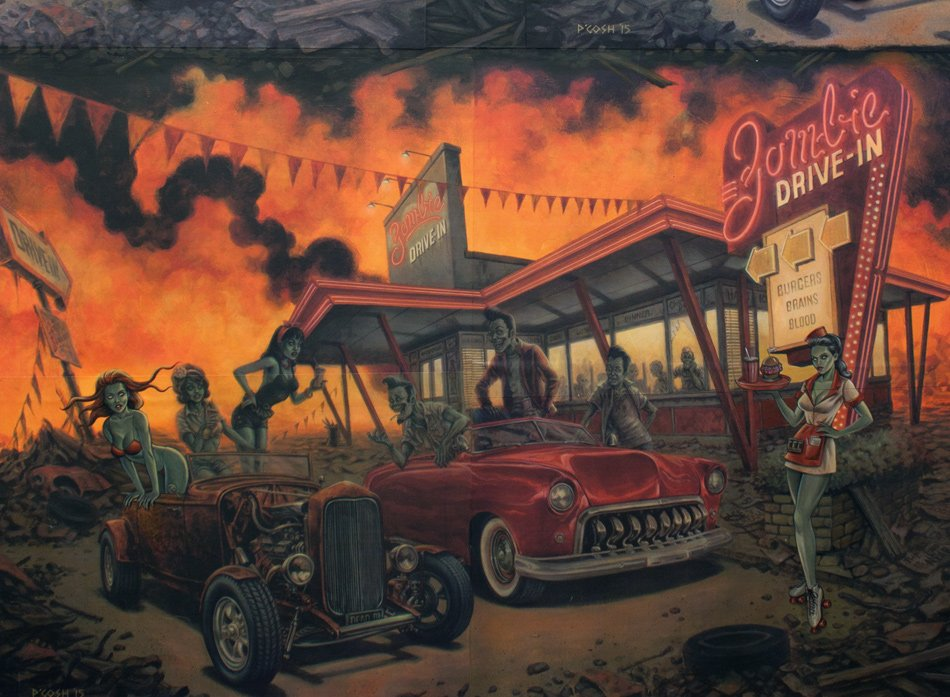 Zombie Drive In (Apocalypse)