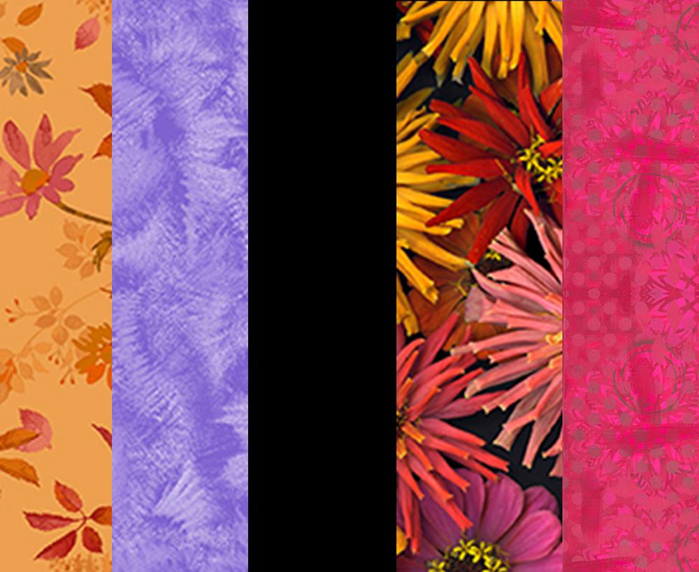 Five Yard Bundle - Autumn Florals