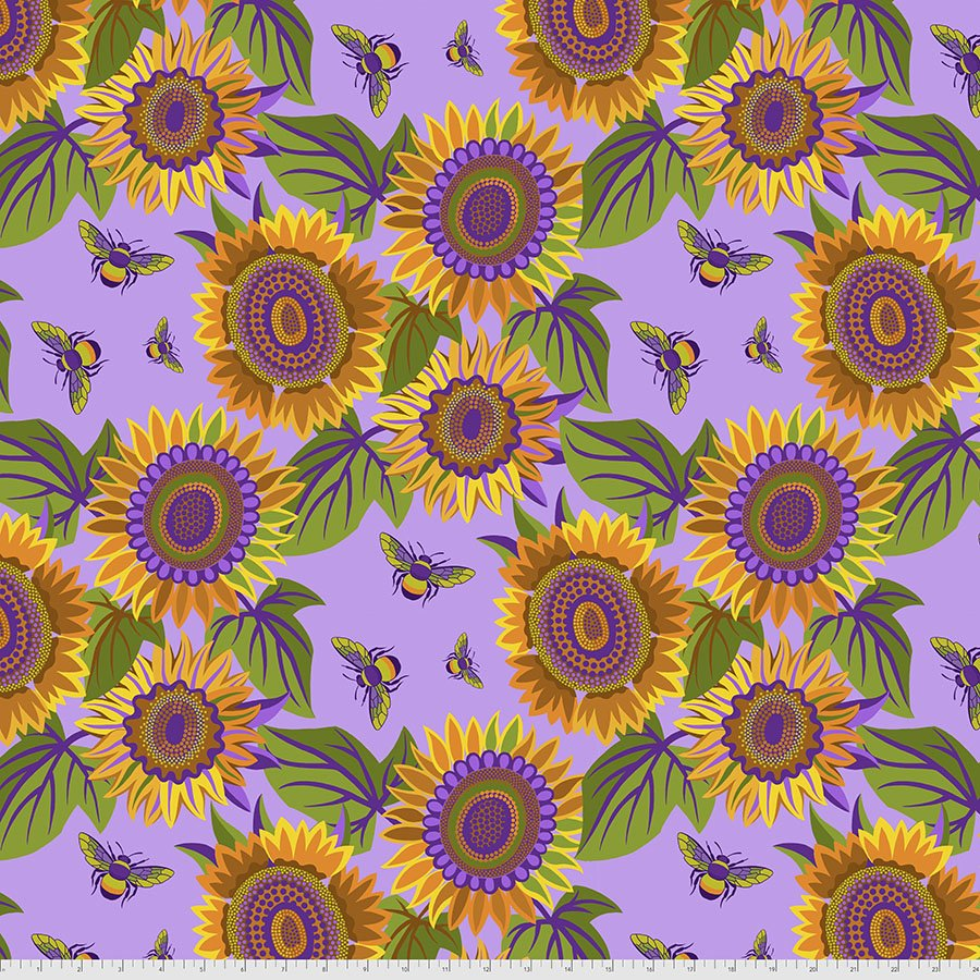 Sassy Summer Salsa - Sunflower - Purple