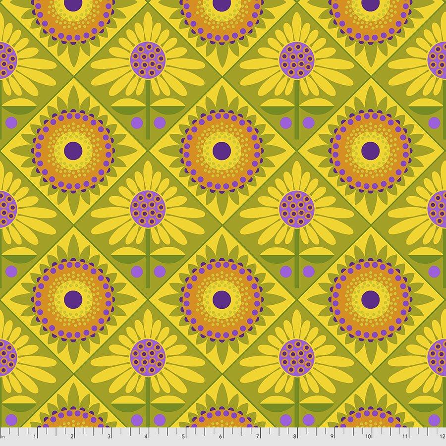 Sassy Summer Salsa - Mexican Tiles - Green