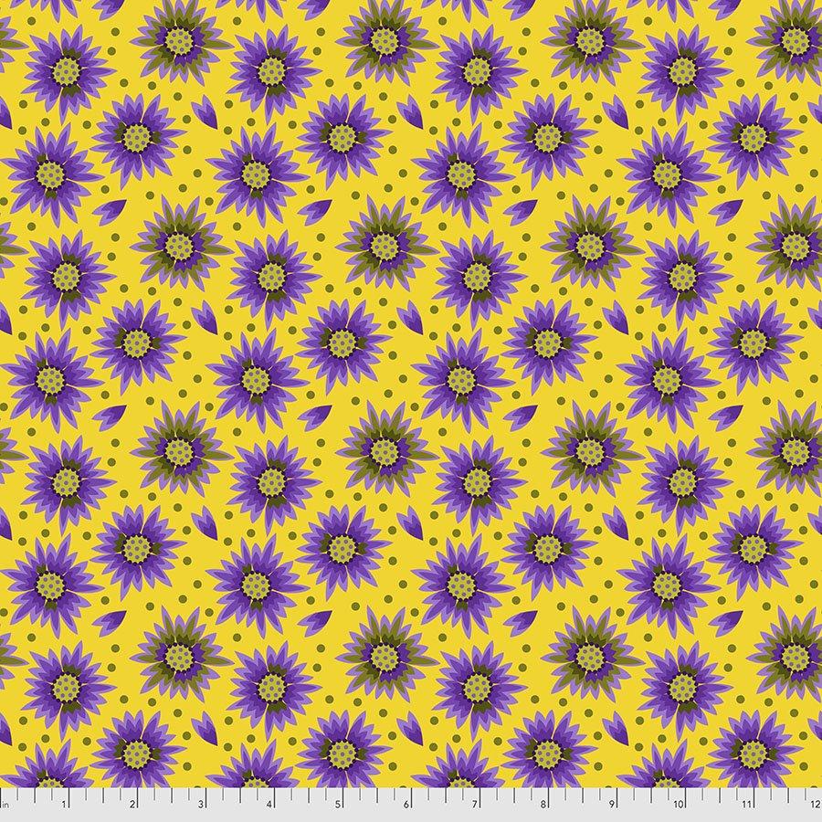 Sassy Summer Salsa - Flower Shower - Gold