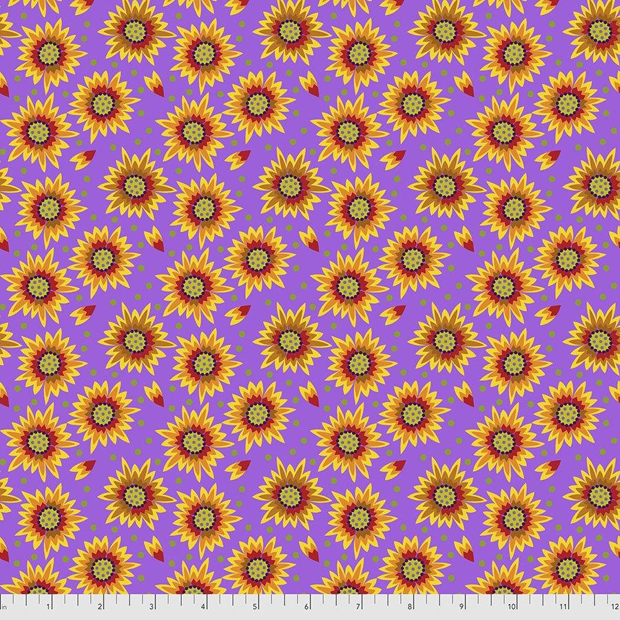 Sassy Summer Salsa - Flower Shower - Purple