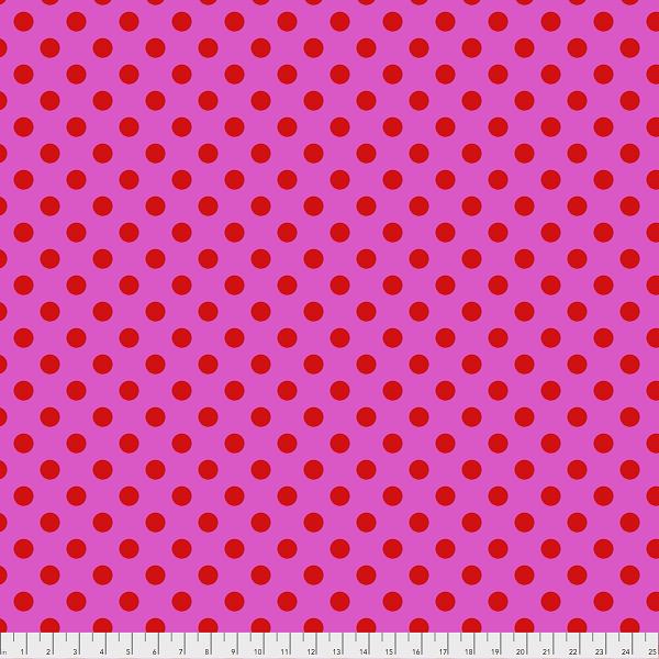 Tula Pink - Pom Poms - Peony