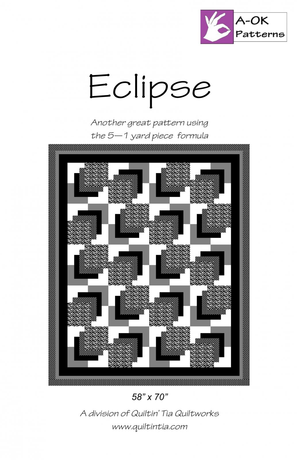 Eclipse - A-OK 5 Yard Quilt Pattern