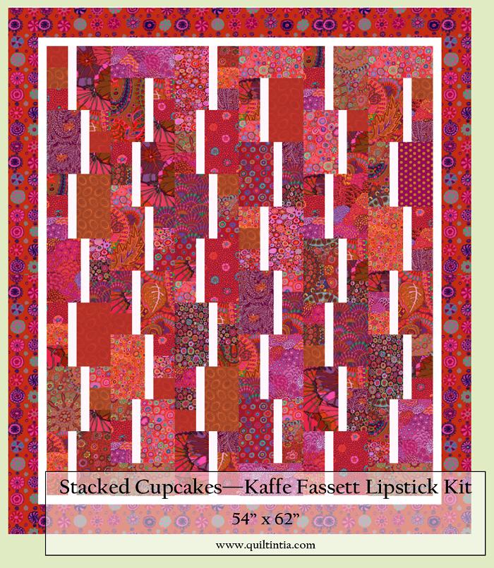 Kaffe Fassett Lipstick - Stacked Cupcakes Kit