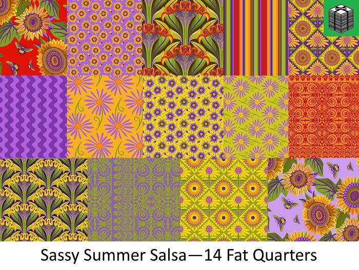 Sassy Summer Salsa - 14 Fat Quarters
