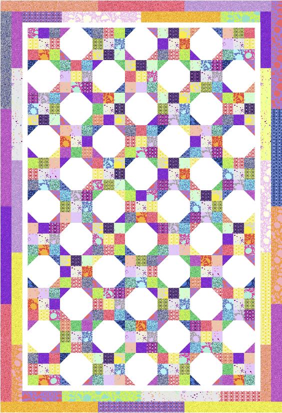 Nine Patch Snowball True Colors Kit