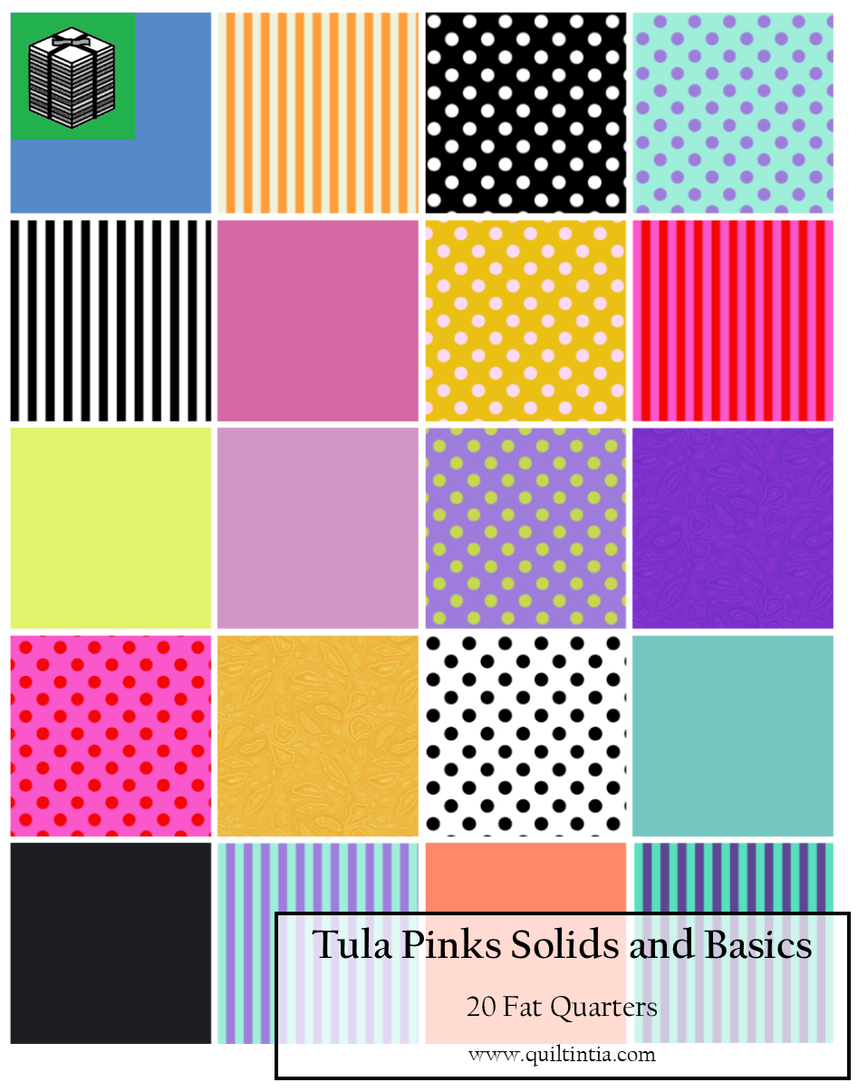 Tula Pink Basics - 20 Fat Quarters