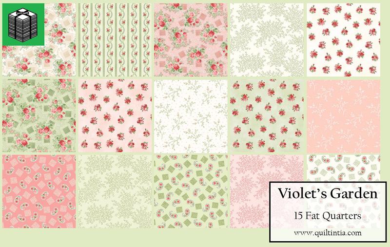 Violet's Garden - 15 Fat Quarters