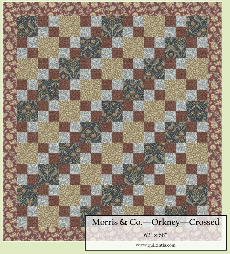 Orkney - Crossed Quilt Kit