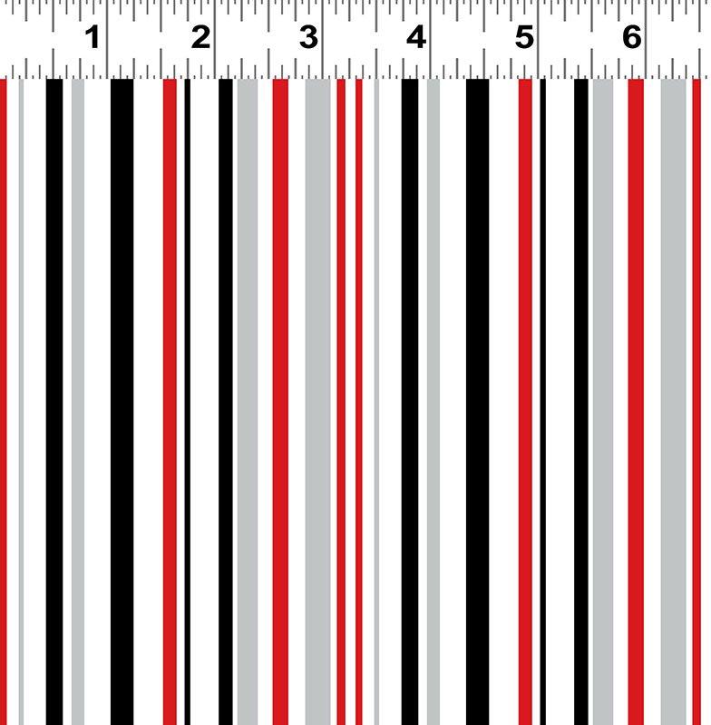 Ruby Night - Stripe - Multi Color