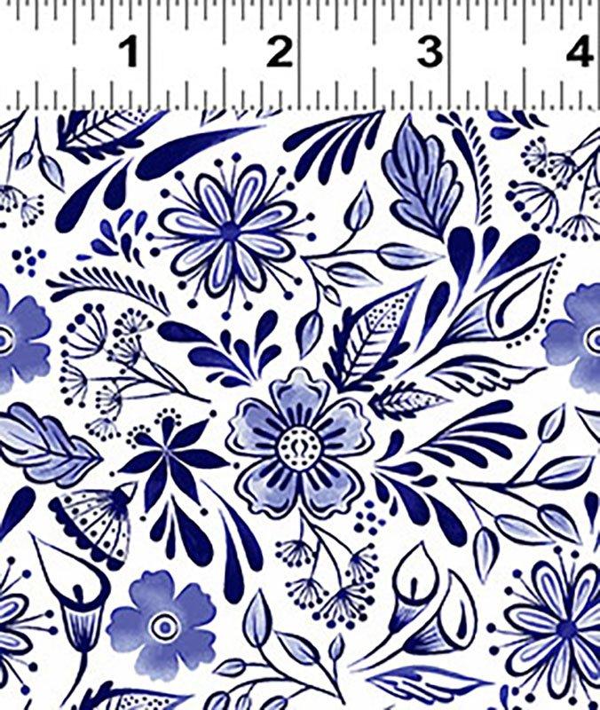 Colorido Mexican Tile Navy Blue