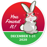 December Found it Bunny