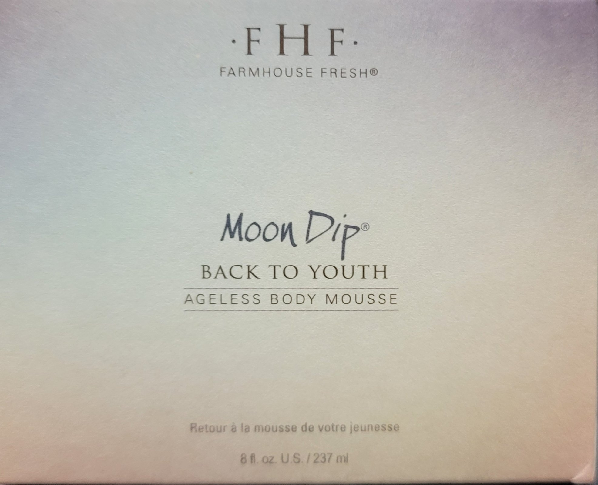 MOON DIP BACK TO YOUTH AGELESS BODY MOUSSE 8 OZ