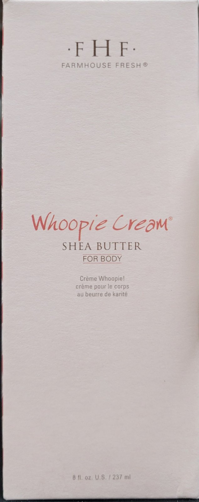 WHOOPIE! SHEA BUTTER CREAM 8 OZ PUMP