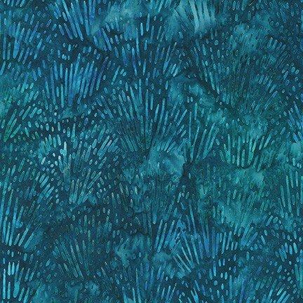 FQ Garden Style Batik - Indigo