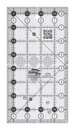 Creative Grids Ruler 4 1/2 X 8 1/2